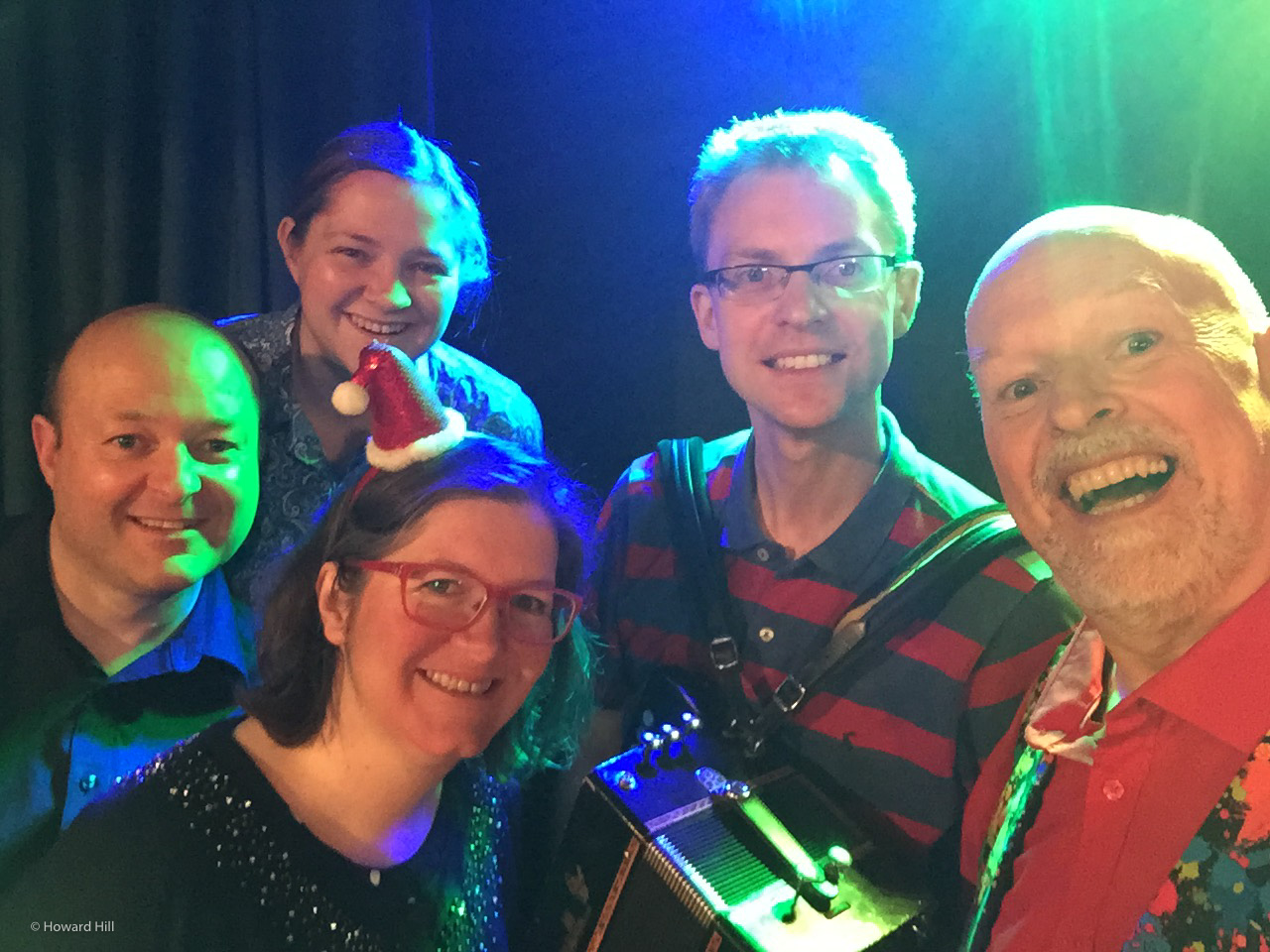 A Christmas ceilidh in Wolvercote